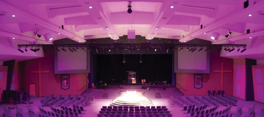 Chroma-Q Inspire Mini LED House Lights Reduce Running Costs for Maranatha Church
