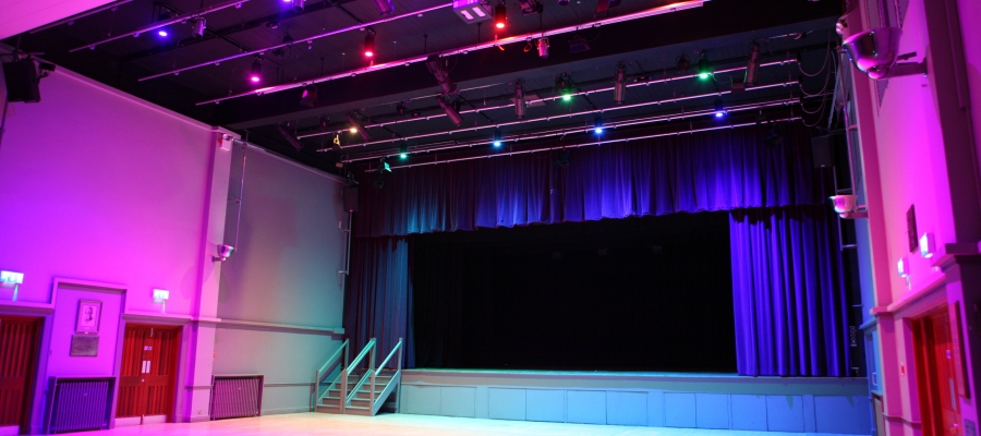 Chroma-Q Inspire House Lights at Petersfield Festival Hall Provide Truly Immersive Experience thanks to A.C. Special Projects