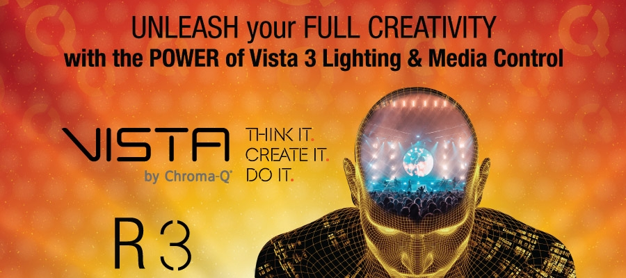 Vista 3 by Chroma-Q Software Release 3 is Now Live