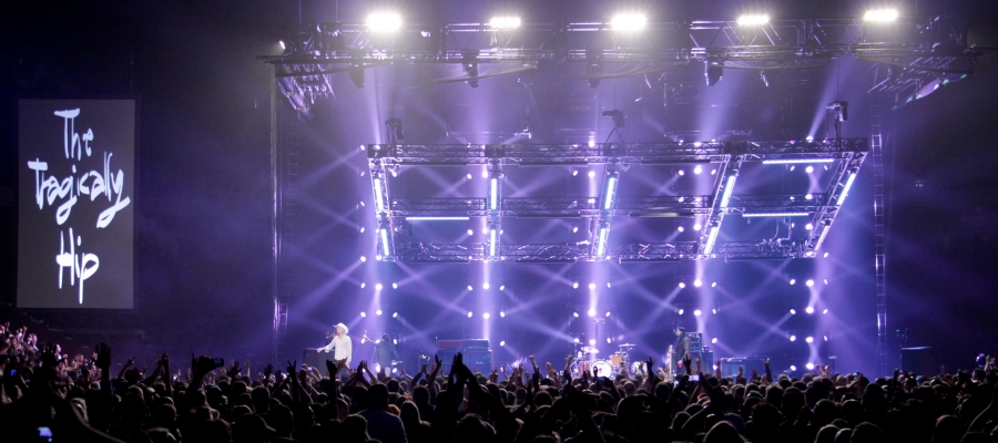 Chroma-Q Color Force 72s Perform Brightly for The Tragically Hip Tour