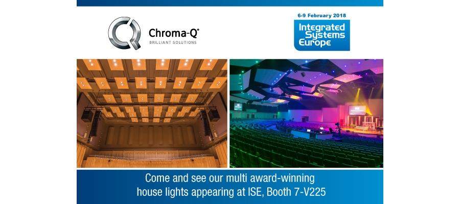 Chroma-Q Showcases Creative Lighting Technologies at ISE 2018