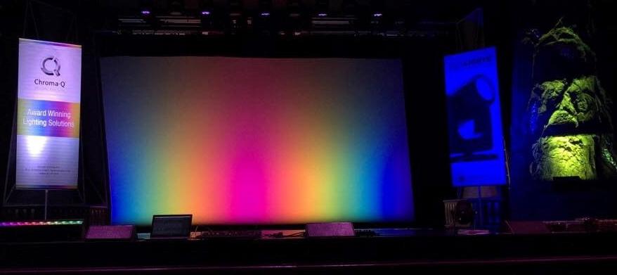 Chroma-Q Color Force II Cyc Light Impresses During Live Company Showcase Event