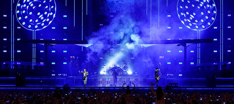 Chroma-Q Color Force II LEDs are in Full Effect for Rammstein European Stadium Tour 2019