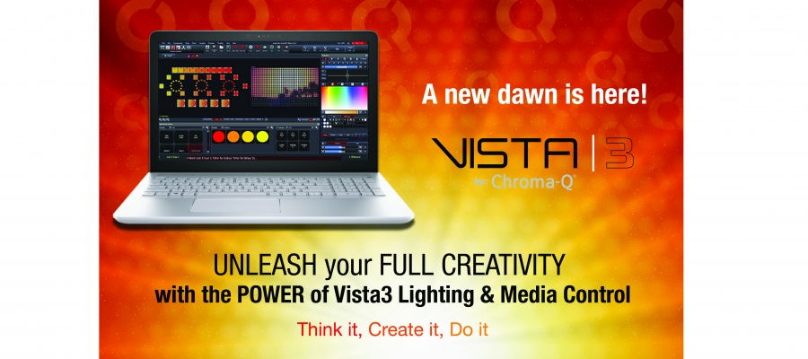 Chroma-Q | Chroma-Q has acquired Jands Vista software and