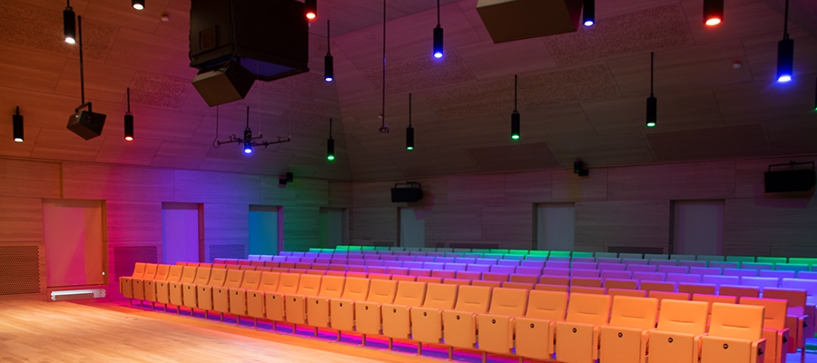 Chroma-Q Inspire XT in Conservatory of Music – Mondo dr Article