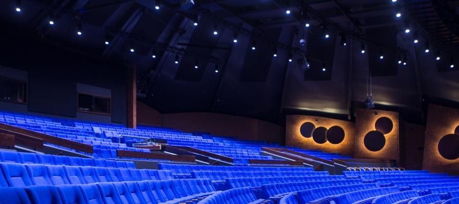 Chroma-Q Inspire House Lights Transform Stavanger Concert Hall's Kuppelhallen Performance Space with Colour