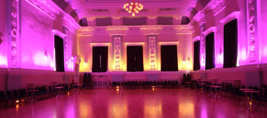 Chroma-Q Color One 100 Pars Cater for Diverse Events at The Ballroom Hyndburn Lancashire