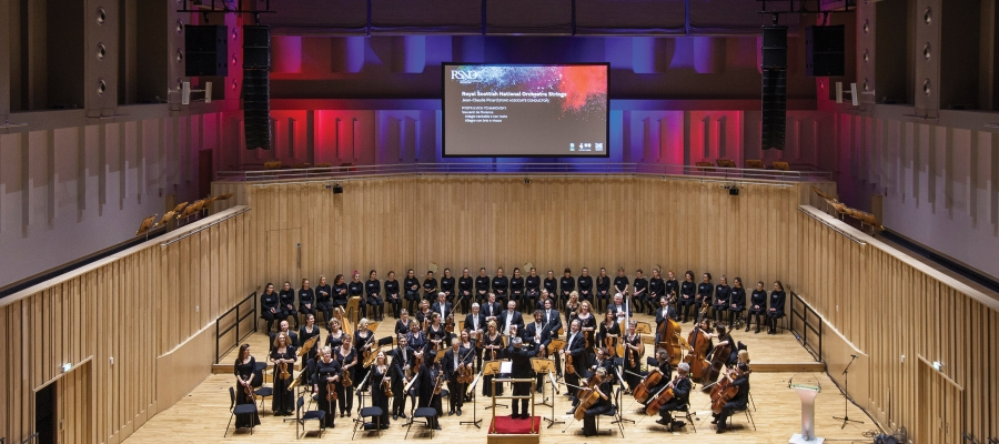 Chroma-Q Inspire LEDs Provide Exceptional Light Quality for Royal Scottish National Orchestras New Home