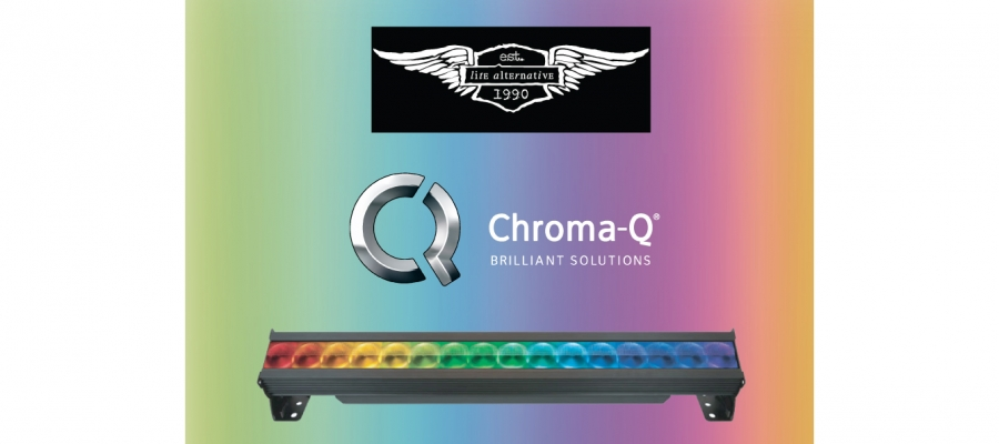 Lite Alternative Chooses Chroma-Q Color Force II for Major Shows and Events