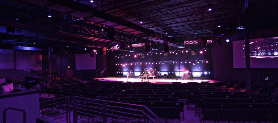 Chroma-Q Inspire House Lights Provide Immersive Worship Experience at Raleigh First Assembly Church
