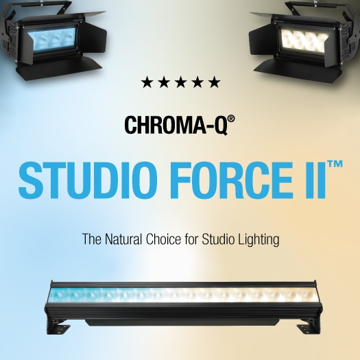 Chroma-Q Continues to Support Production with Brilliant Solutions on Major Titles