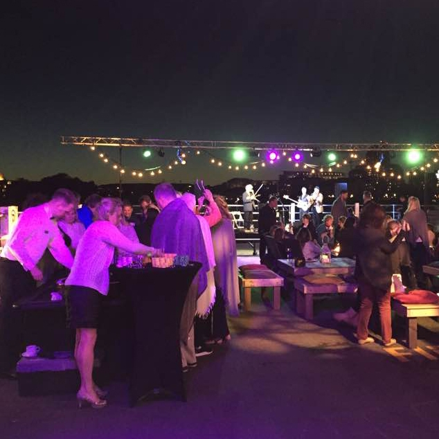 Chroma-Q Illuminates a Night to Remember - Party on the Pier