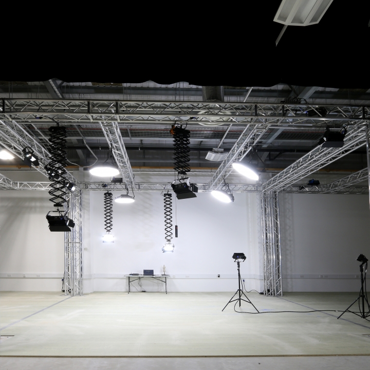 Chroma-Q Fixtures Installed in John Lewis New Content Production Studio
