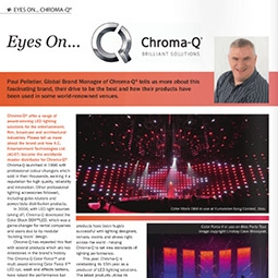 Chroma-Q in Profile in A1 Lighting Magazine