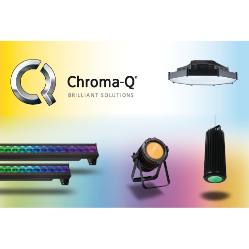 Chroma-Q Showcases Award-Winning LED Lighting Solutions at PLASA Focus Glasgow
