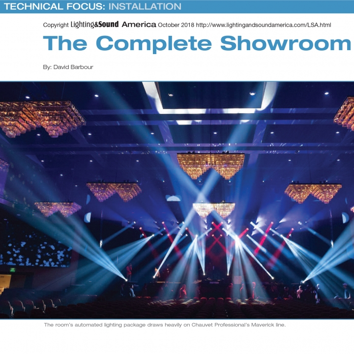 Chroma-Q Color Force II in Lighting & Sound America in Parx Casino: The Complete Showroom