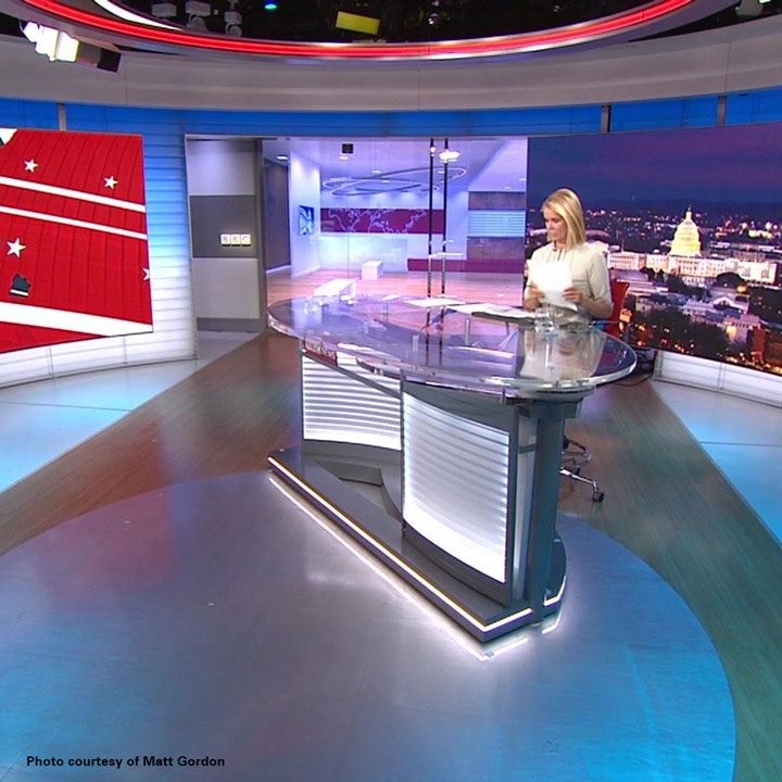 New Studio Design for BBC World News America