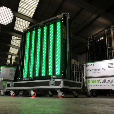 Chroma-Q Carbon Neutral Testing with Green Voltage